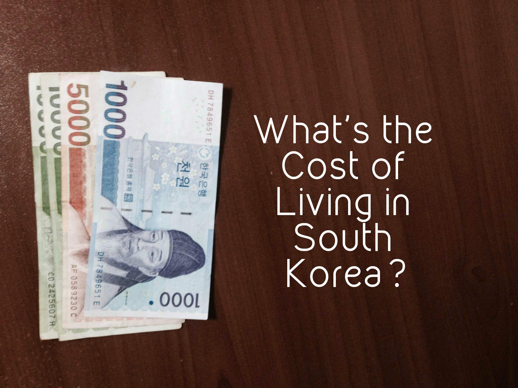 what 39 s the cost of living in south korea live learn venture. Black Bedroom Furniture Sets. Home Design Ideas