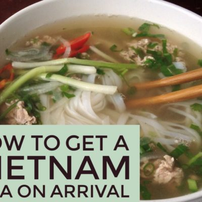 How to Get a Vietnam Visa on Arrival