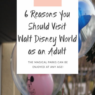 Reasons you should visit disney as an adult